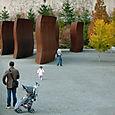 Richard Serra 'Wake' (view 3)