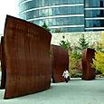 Richard Serra 'Wake' (view 2)