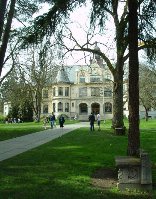 Founder's Vision, Denny Hall, University of Washington